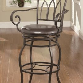 metal arm seat barstool