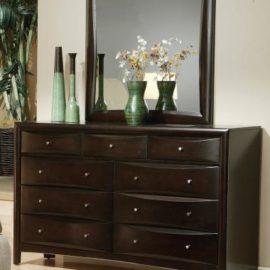 Phoenix bed 200413 dresser