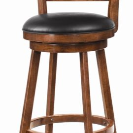 29 inch Swivel Bar Stool Upholstered Seat