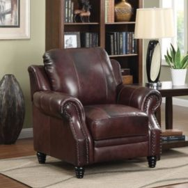500661 Princeton leather chair
