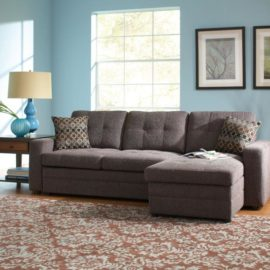 Grey Sofa Chaise sleeper sofa