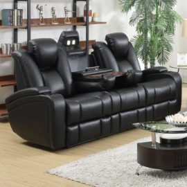 Delange recliner theater sofa set Galaxy