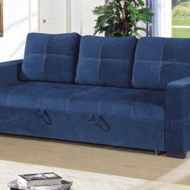 6531 Navy Sofa sleeper