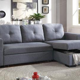 6920 Sofa chase Sleeper in Grey
