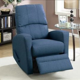 slim recliner chair side handle