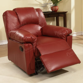 Burgandy recliner sofa, loveseat and chair