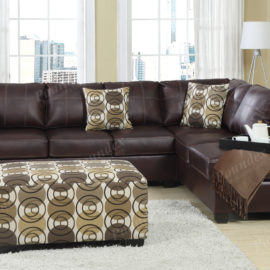 Upholstered Ottoman Contemporary fabric