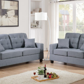 Faux Leather sofa set