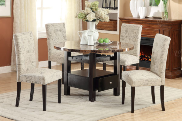 1093 white dining chair