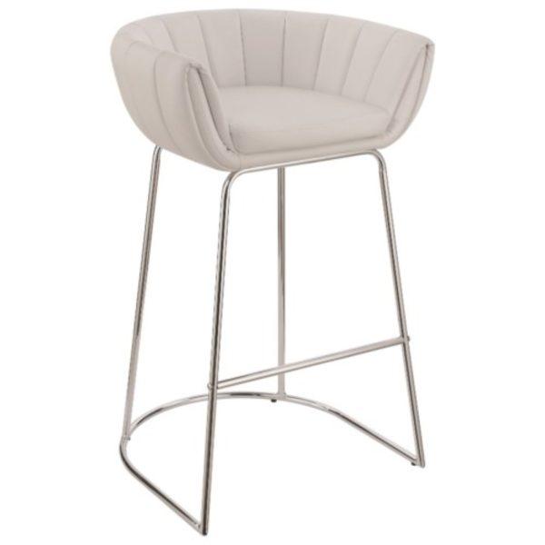 Awe Inspiring 18200 Modern Low Back Bar Stool Machost Co Dining Chair Design Ideas Machostcouk