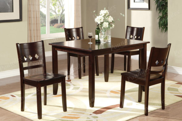 5pc espresso counter Height dining set