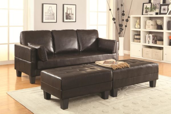 Sofa Chaise Sleeper brown