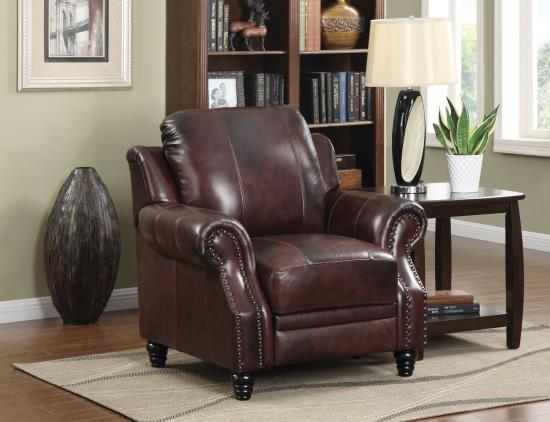 500661 Princeton leather chair