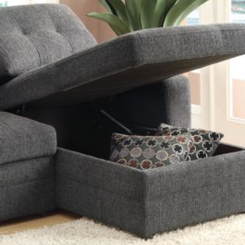 Grey Sofa Chaise sleeper sofa