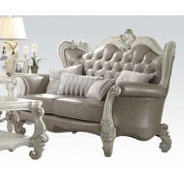 Versailles Vintage Gray Loveseat