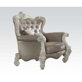 Versailles Vintage Gray Chair