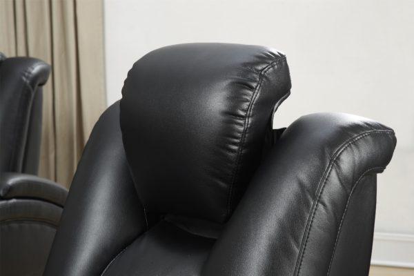 Delange recliner theater sofa set Galaxy