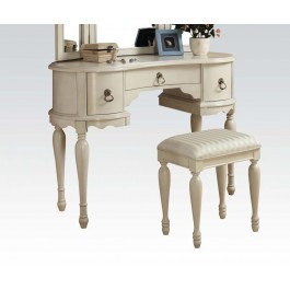 White 3pc Vanity set