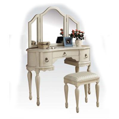 White 3pc Vanity set