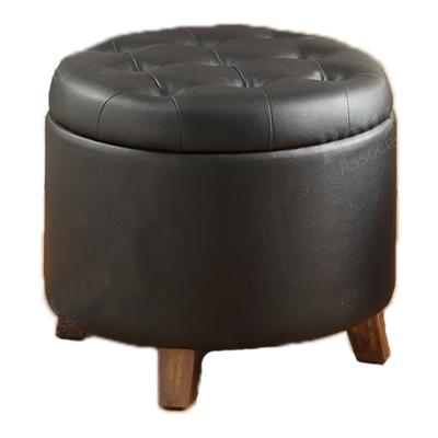 Circle ottoman Storage
