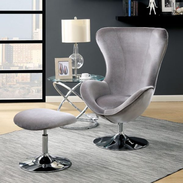 Sheila Accent chair and ottoman