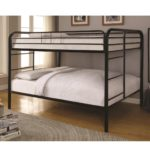 Black Metal Beds Full Over Full Bunk Bed