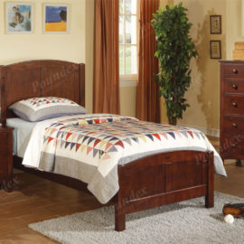 Brown Bed frame kids twin