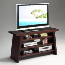 modern brown TV stand