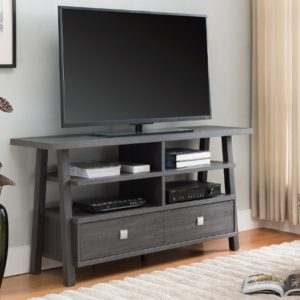 """60"""" Grey TV stand"""