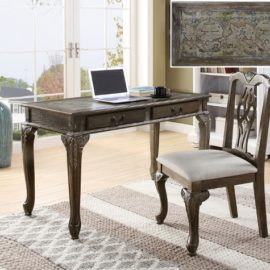 classic desk and chair GREY