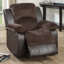 two tone recliner chair