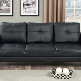sofa sleeper click-clack brown