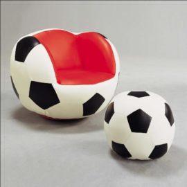 soccer Ball Bench ottoman