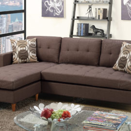 sofa chaise in black brown or Grey