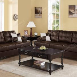 espresso sofa loveseat set