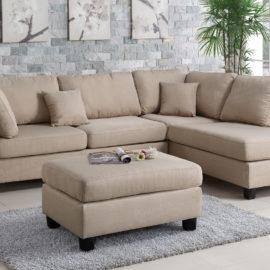 Sofa Chaise Ottoman