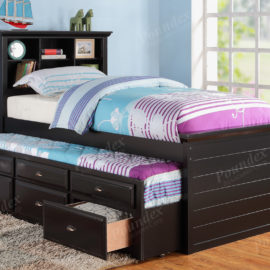 Captain Bed w trundle