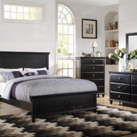 Tamarak Bed frame brown wood