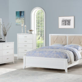 tufted headboard bed frame