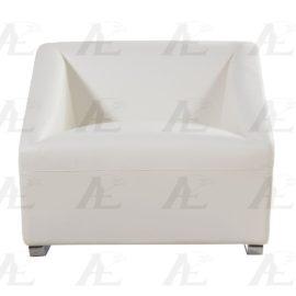 Modern Leather Chair White