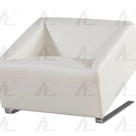 Modern Leather Chair White
