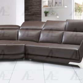 Italian leather sofa sectional
