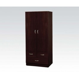 Cherry wood wardrope