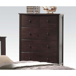 San Marino dark walnut chest