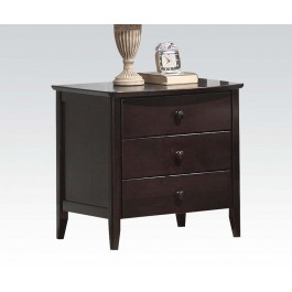 San Marino dark walnut nightstand