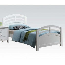 San Marino maple white bed collection