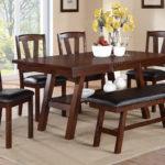 Walnut Dining Table set