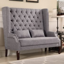 tufter high back love Seat