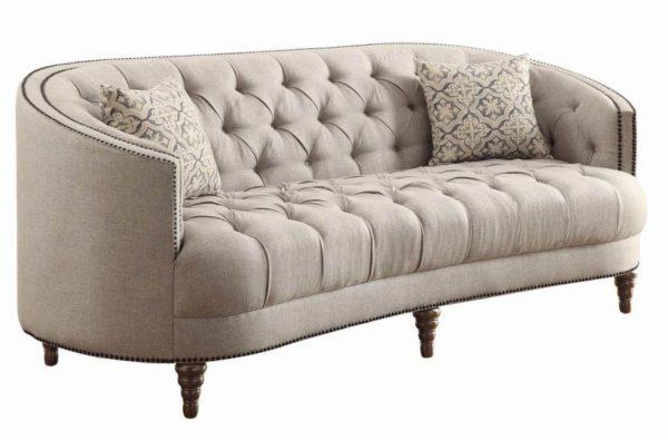 Tufted Grey Sofa, Love, Chair