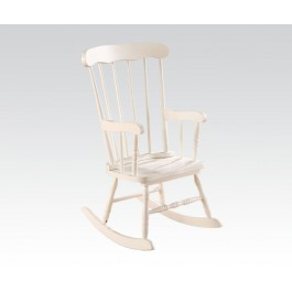 white kids rocking chair